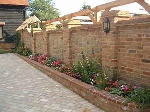New Landscape Bricks Incredible Homes Ideas Wall