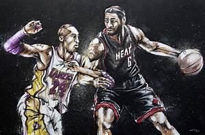 LeBron and Kobe Wallpaper - WallpaperSafari