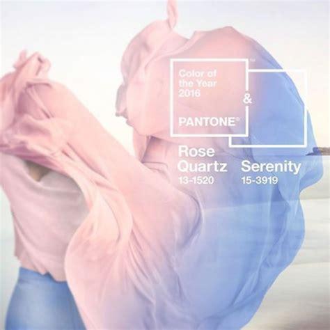Trendfarbe 2016 Pantone by Cuarzo Rosa Y Serenidad Los Colores A 241 O 2016