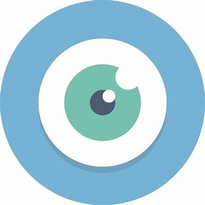 Vision Icon Icons Circle الرئيه Eyesight Vission