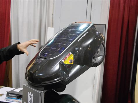 Husqvarna Automower Solar Hybrid 1421 by Solar Powered Robotic Automower Tfot