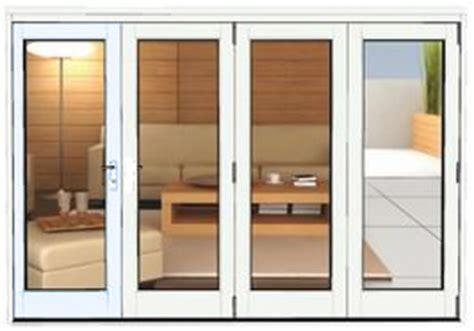 white bifold doors 3990 x 2090 white aluminium bi folds folding doors 2 u