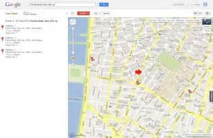Bond Street Google Maps