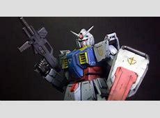 Custom Build HG 1144 RX78[G] Prototype Ground Gundam