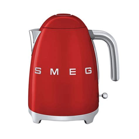 Smeg 1.7L Cordless Kettle   Red