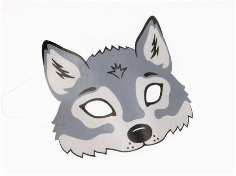 wolf vorlagen kostenlos wolf maske zum ausdrucken
