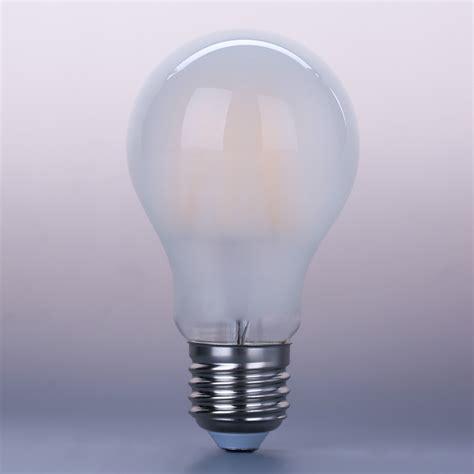 frosted a60 e27 led filament bulb