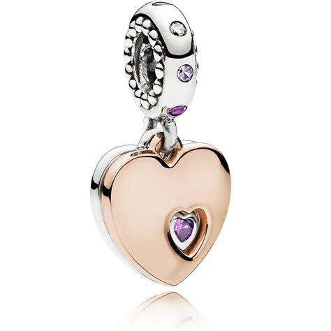 pandora rose   heart bracelet   jewel hut