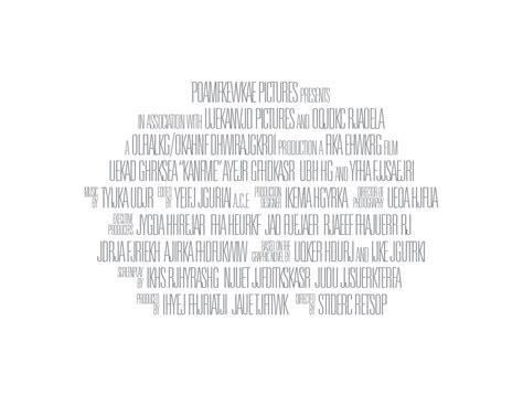 poster credits template 9 lines billing blocks poster credits
