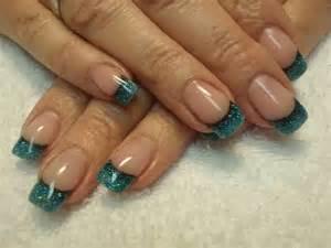 Nail art designs teal pink teal and orange nails nail art ideas view images teal black nail design nails prinsesfo Image collections