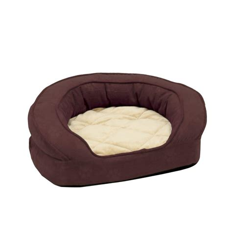 paw extra large memory foam dog bed with removable cover
