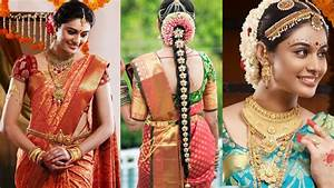 South Indian Bridal Saree Draping with Bridal Makeup &Bridal Hairstyle Step By Step Marriage