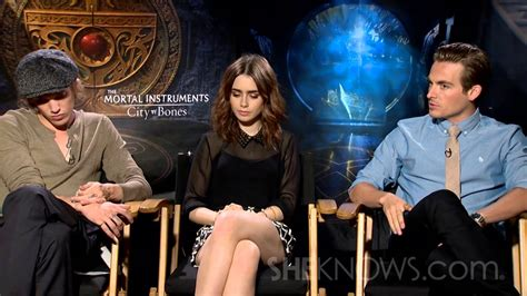 Lily Collins, Jamie Campbell Bower, & Kevin Zegers Talk