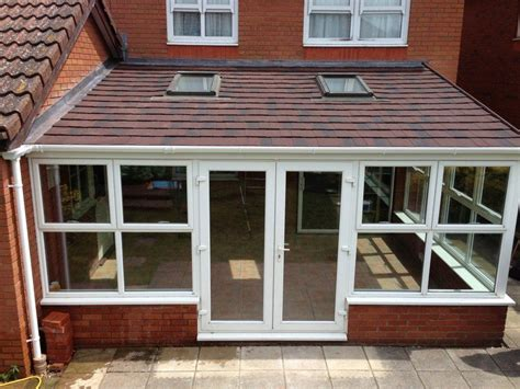 lean to style conservatory roof installed in hailsham beautiful spaces pinterest