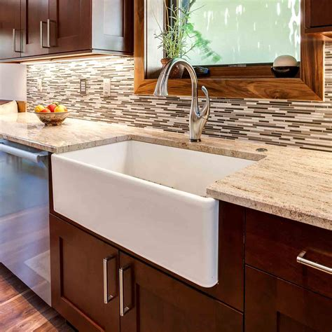 kitchen farm sinks sink options for your colorado kitchen lenova kohler 1609