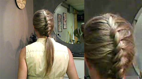 braiding  twisted french braid easy instructions