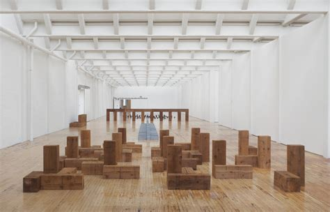 musee d moderne expo carl andre sculptures as a place expo in the city