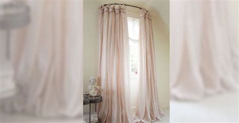 Curved Drapery Rods For Windows by Best 25 Curved Curtain Rod Ideas On