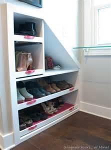 Knee Wall Built in Shelves