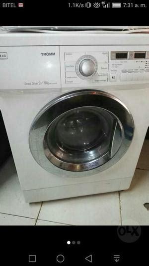 lavadora secadora tromm lg usada en buen estado posot class