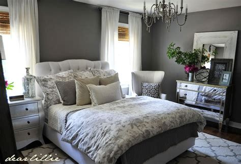 Dear Lillie Some Finishing Touches To Our Gray Guest Bedroom