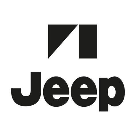 jeep logo transparent white jeep logos in vector format eps ai cdr svg free download