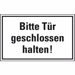 Bitte Türe Schließen : t rhinweisschild bitte t r folie selbstklebend 150x100mm ~ Orissabook.com Haus und Dekorationen