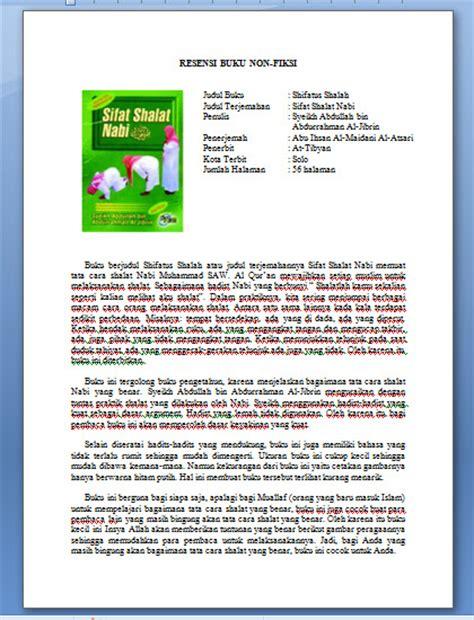 Contoh Resume Novel Laskar Pelangi by Resensi Novel Review Ebooks