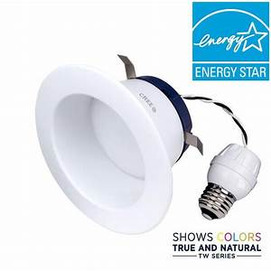 Cree Tw Series 65w Equivalent Soft White  2700k  4 In