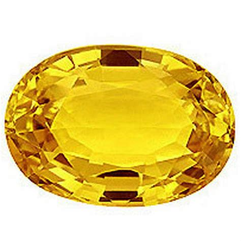 Yellow Safire yellow sapphire gemstone at rs 5000 precious