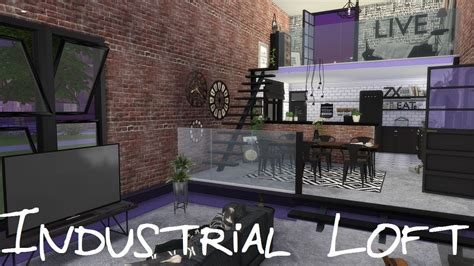 sims  speed build industrial loft  cc links