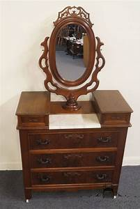 High End Used Furniture Antique Victorian Walnut Dresser