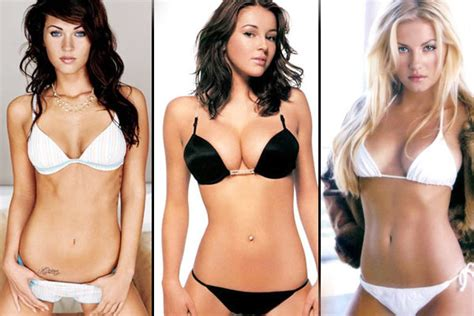 Fhm's Top 10 Sexiest Women