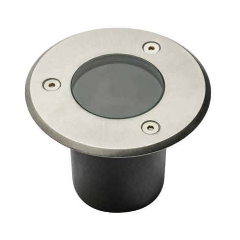oule led pour spot exterieur spot exterieur ip67 mini 230v pour led gu10 acier bross 233 rond