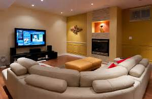 Finished Basement Family Room Home Touch Basement Design Ideas For Family Room