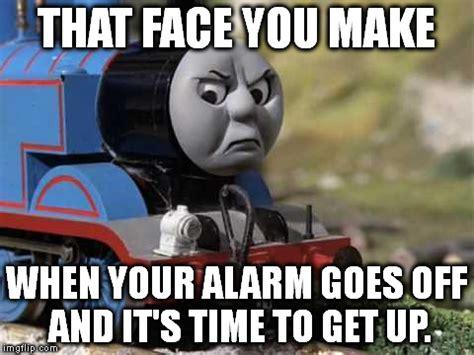 Thomas Meme - angry thomas imgflip