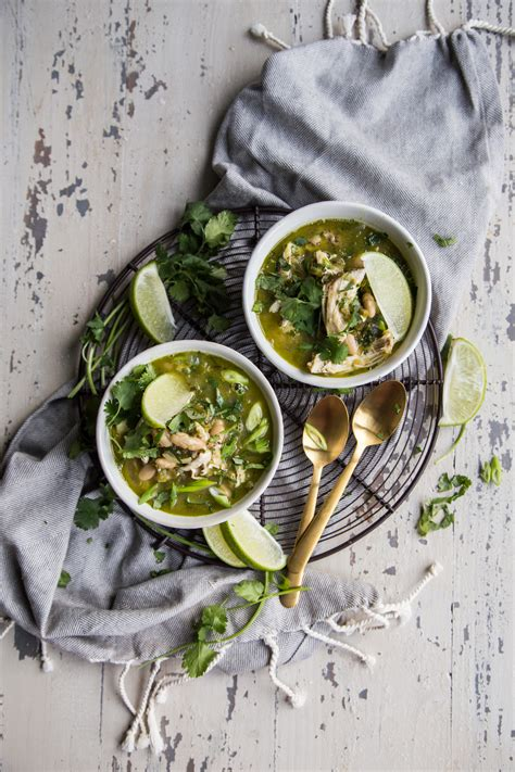 White Bean Chili Verde | The Better Parent