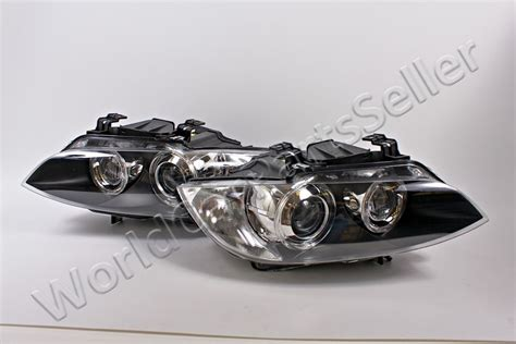 Bmw 3 E90 E93 E92 2007-2010 Xenon Headlights Front Lamps