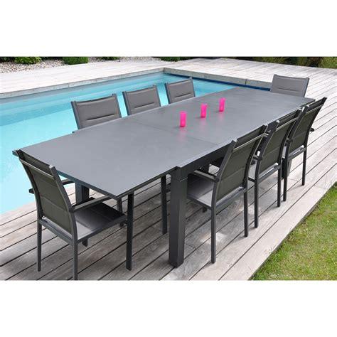 leclerc chaise emejing table de jardin avec rallonge leclerc gallery
