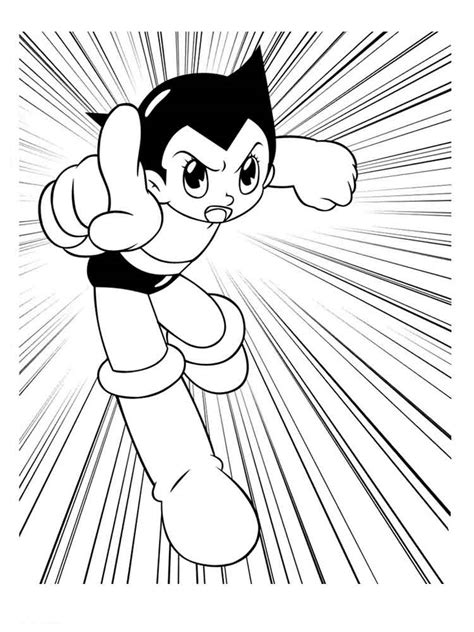 astro boy coloring pages   print astro boy coloring pages
