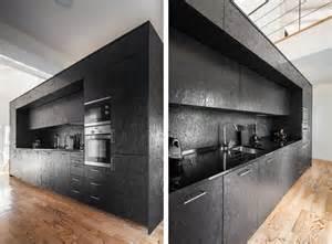Casa in ex fienile con scatola nera interna osb by ines