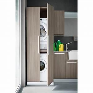 meuble pour machine a laver et seche linge espaces de la With meuble machine a laver encastrable