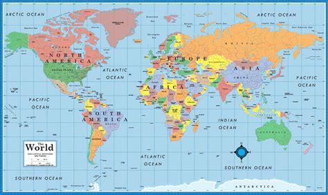 world usa educational beginners level   desktop map
