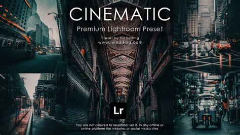 We have many premium lightroom presets on sale for just a few bucks! Lightroom Presets DNG & XMP Free Download | Cinematic ...