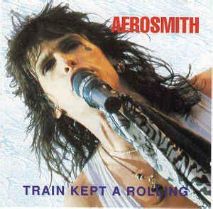 aerosmith train   rolling  cd discogs