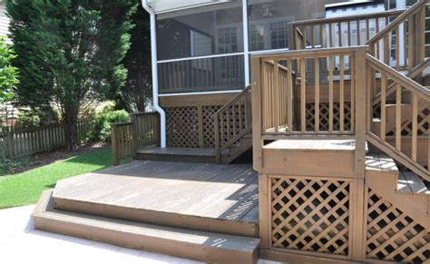 Deck Cary Nc Menu by Cary Nc Pool Deck Upgrade