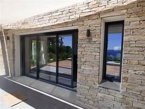 17 meilleures idees a propos de baie coulissante pvc sur With porte de garage de plus baie vitrée galandage
