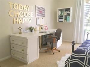 Créer Son Bureau Ikea : 18 coolest diy ikea desk hacks to try shelterness ~ Melissatoandfro.com Idées de Décoration
