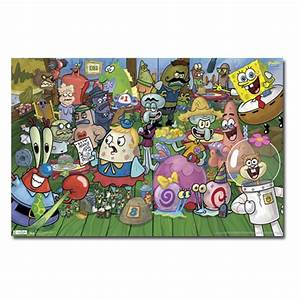 SpongeBob Characters Wall Poster