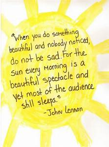 Inspirational Q... Sun And Smile Quotes